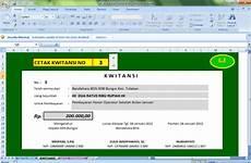 download aplikasi kwitansi excel download aplikasi kwitansi bos otomatis format excel belajar membaca menulis