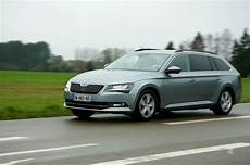 Essai Skoda Superb Combi Tdi 150 Business La Vrpmobile