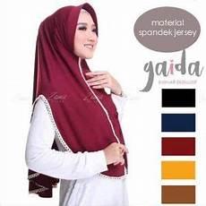 Jilbab Instan Gaida Renda Kerudung Langsung Pakai