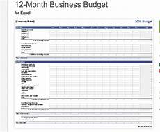 work expenses spreadsheet template intended for 7 free small business budget templates fundbox