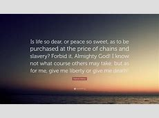 give me liberty or death speech