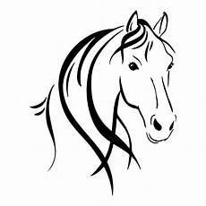 outline horses stickers car decals wall decal