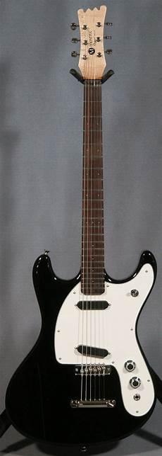 ii guitars mosrite ii guitar black ed guitars