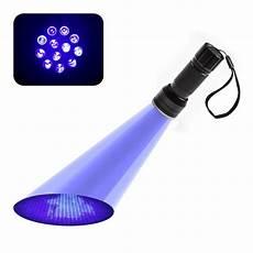 12led uv flashlight handheld blacklight stain pest scorpion detector torch money detector light