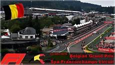 Formule 1 Grand Prix De Belgique 224 Spa Francorchs Le