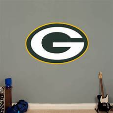 green bay packers wall stickers green bay packers logo fathead wall decal