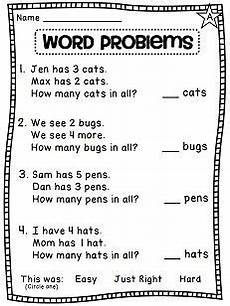 addition word problem worksheets for kindergarten 11338 grade math unit 3 addition to 10 1st grade math worksheets addition words grade math