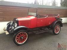 1921 Vintage Willys Overland Touring Car