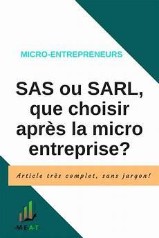 monter sa micro entreprise quel statut choisir apr 232 s la micro sas ou sarl en 2020 micro entreprise management de