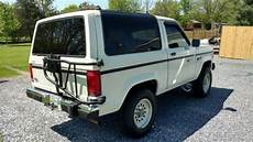 classic 1988 ford bronco ii xl 2 9 v6 5 speed many new parts no rust bondo or repair for