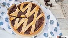 crostata con crema al cioccolato fatto in casa da benedetta ricetta it crostata al cioccolato facebook