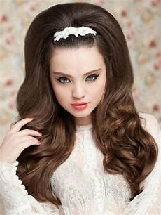 retro hairstyle for long hair 15 best collection of easy vintage hairstyles for long hair