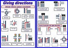 giving directions worksheet free esl printable worksheets made by teachers