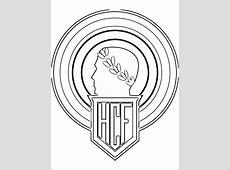 Kleurplaat Hércules CF logo   Gratis kleurplaten