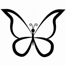 ausmalbild schmetterling umriss butterfly outline design from top view svg png icon free