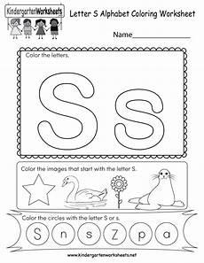 letter s worksheet for kindergarten 23528 letter s coloring worksheet free kindergarten worksheet for