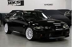 1995 nissan skyline r33 gt r vspec schwarz jv imports