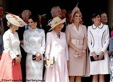 The Duchess Joins A Host Of Royals For Garter Day In