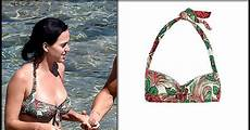katy perry in green floral print on the in
