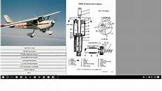 Cessna 150 Service Maintenance Manual Library W A Ds Ebay