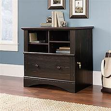 home office furniture file cabinets cubbyhole transitional lateral file cabinet in dark brown
