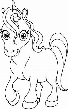 Einhorn Malvorlagen Kostenlos Unicorn Coloring Pages To And Print For Free