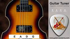 Bass Tuner 4 String Bass Guitar Tuner