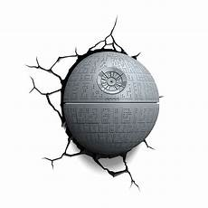 star wars death star 3d deco light detailed wall light menkind