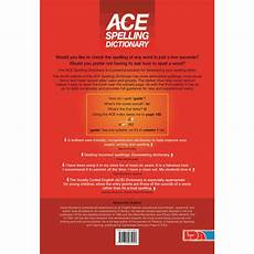 ace spelling dictionary worksheets 22366 product lda resources