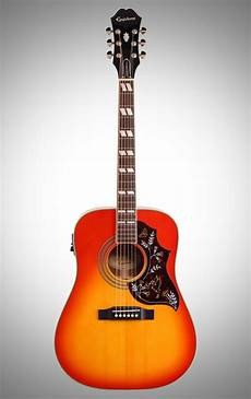 Epiphone Hummingbird Pro Acoustic Electric Guitar Zzounds