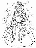 Princess Coloring Page & Book For Kids