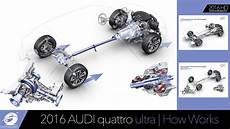 how do cars engines work 1985 audi quattro head up display 2016 audi quattro ultra technology how it works youtube