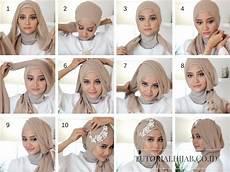Model Jilbab Yang Cocok Untuk Wajah Bulat Jaman Sekarang