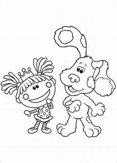 Einfache Malvorlagen Junior Blue S Clues 27 Ausmalbilder F 252 R Kinder Malvorlagen Zum