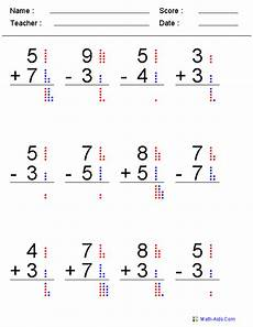 grade math worksheet mixed addition and subtraction mixed problems worksheets mixed problems worksheets for