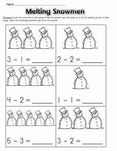 winter subtraction worksheets 20085 subtraction worksheets winter subtraction worksheets math subtraction kindergarten worksheets