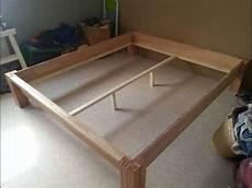 Massivholz Bett Ohne Schrauben Nachgebaut Bauanleitung