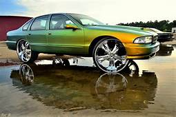 Chevy Impala On 28s  Big Rims Custom Wheels
