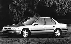 Used 1992 Honda Accord Sedan Pricing  For Sale Edmunds