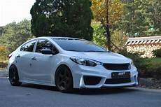zest front kit bumper for kia forte k3 sedan 2014