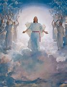 Image result for Christ return in the clouds