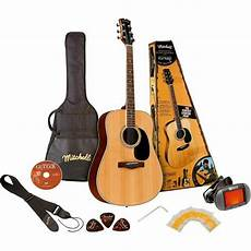 mitchell guitars history mitchell md120pk acoustic guitar value package for sale ebay