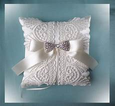 details about ivory lace wedding ring cushion size 20x20 cm wedding ring pillow wedding ring