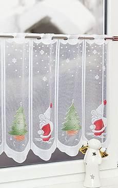 weihnachts scheibengardinen scheibengardinen fensterdekoration mit bistrogardinen im