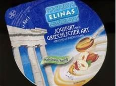 Griechischer Joghurt Kalorien - elinas joghurt nach griechischer haselnuss honig