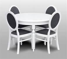 Essgruppe Runder Tisch - klassischer rund runder tisch holz design tische esszimmer