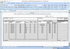 first article inspection report form download free sle