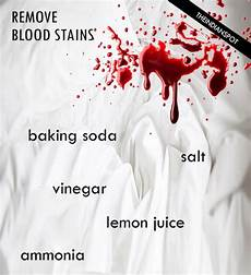 best simple and easy ways to remove blood stains theindianspot