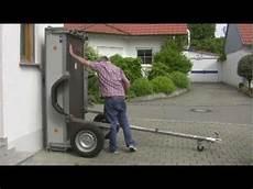 Garage Für Autoanhänger klappanh 228 nger