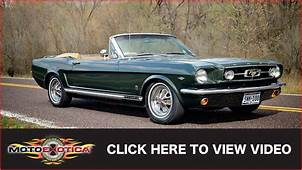 1965 Ford Mustang GT Convertible SOLD  YouTube